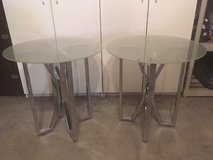 2 New end tables in Naperville, Illinois