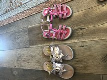 Girls sandals in Yucca Valley, California
