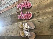 Girl sandals in Yucca Valley, California