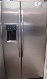 26 CU. FT. GE PROFILE ARCTICA SIDE-BY-SIDE REFRIGERATOR in Camp Pendleton, California