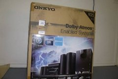 Onkyo 6 Speakers, Receiver all in box, brand NEW! Great gift, Powerful, top of the line Home The... in Rosenberg, Texas