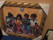 Black Children on couch in Naperville, Illinois