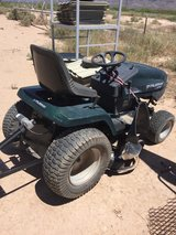 muarry lawn tractor with electic tool hitch in rear in Alamogordo, New Mexico
