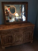 "Hutch and mirror 16 inches deep 47 long   27""tall in Conroe, Texas"
