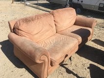 Dirty, but comfortable couch in 29 Palms, California