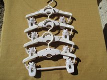 White Expandable Baby Hangers in Bartlett, Illinois