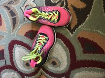 Pink shoes in Yucca Valley, California