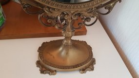 Antique Brass Standing Mirror in Ramstein, Germany
