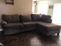2-piece Chocolate Sofa (Excellent Condition) in Fort Rucker, Alabama