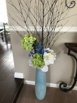 Tall vase with fake flowers in Camp Pendleton, California