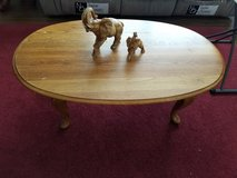 Oak Coffee Table and End Tables in Fort Rucker, Alabama