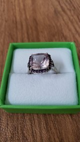 Sterling Silver Amythest Ring Size 9 in Naperville, Illinois