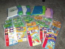 Lot of Leap Frog Electronic Learning Books with Cartridges in Orland Park, Illinois
