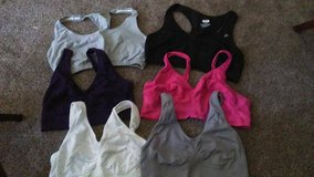 Lot of Six Sports Bras in Tinley Park, Illinois