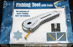 NIB Fishing Tool Scale Line Fastener Hook Remover Bass Weight Fish Lake in Kingwood, Texas