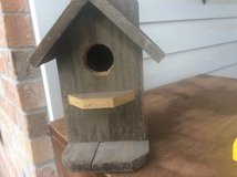 Bird house, wood, rustic in Fort Polk, Louisiana