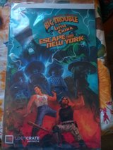 Big Trouble in Little China, Escape from New York Comic Book in 29 Palms, California