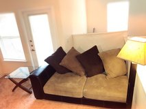 LIKE NEW COUCH,SIDE TABLE, LAMP in Fort Hood, Texas
