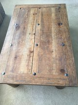 SOLID WOOD LIVING ROOM TABLE in Yucca Valley, California