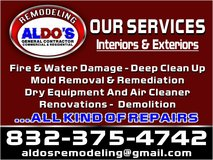 Water damage / mold remediation in Kingwood, Texas
