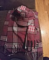 cashmere collections 3 pc purple white and black plaid set in Leesville, Louisiana