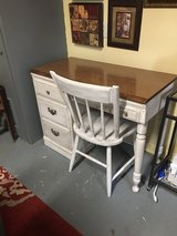 """Desk and chair 40""""long 19"""" wide 30"""" tall in The Woodlands, Texas"""