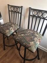 2 wrought iron barstools in Clarksville, Tennessee