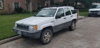 1995 Jeep Grand Cherokee Laredo.  2WD.  4.0L Engine.  Clear Title. $1000.00 in Cleveland, Texas