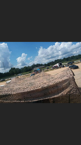 Camouflage canopy 30 by 30 with all extending poles new in Fort Benning, Georgia