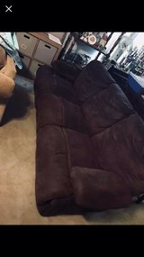 brown Microsuede couches in Eglin AFB, Florida