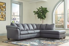 NEW! QUALITY URBAN COMFY GREY SOFA CHAISE SECTIONAL! in Camp Pendleton, California
