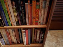 hundreds of cook books in 29 Palms, California