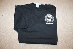 Wheatland Athletic Association Black Short Sleeve Referee Tee - Large in Naperville, Illinois