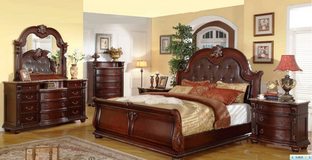 United Furniture - Fleur de Lille as shown including delivery -US QS and US KS in Wiesbaden, GE