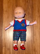 "Caillou Doll Fun And Learn 15"" Vinyl Speaking Doll EUC in Travis AFB, California"