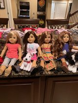 American Girl Dolls, Isabelle, Grace, Lea, Saige, Plus a ton of outfits & accessories available too in Bolingbrook, Illinois