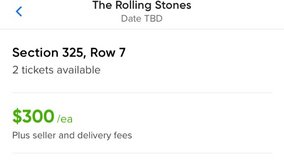 The Rolling Stones Concert tickets in Naperville, Illinois