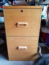 2 wooden file cabinets in Lockport, Illinois