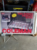 Coleman 2 burner propane stove in Bolingbrook, Illinois