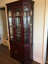 Beautiful Cherry Curio Cabinet - Downtown Des Plaines in Palatine, Illinois