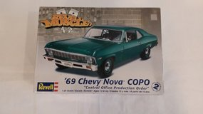 NEW Car Model Kit - 69 Chevy in Bolingbrook, Illinois