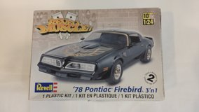 NEW Car Model Kit - 78 Pontiac in Aurora, Illinois
