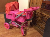 Baby Doll Stroller With Cover and Carry bag in Bolingbrook, Illinois
