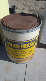 25 gal storage container in Yucca Valley, California