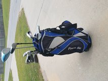 Golf bag and clubs in Beaufort, South Carolina