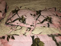Real tree crib bedding set complete in The Woodlands, Texas