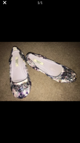 Women's size 8 Vera Wang ballet flat shoes in Lockport, Illinois