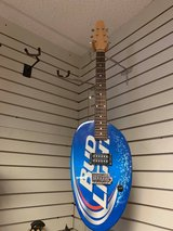 Bud Light Oval Guitar in Beaufort, South Carolina