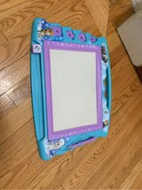 Frozen magnetic writing board in Bolingbrook, Illinois