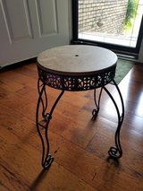 DIY: Black Metal Stool/Plant Stand in Clarksville, Tennessee